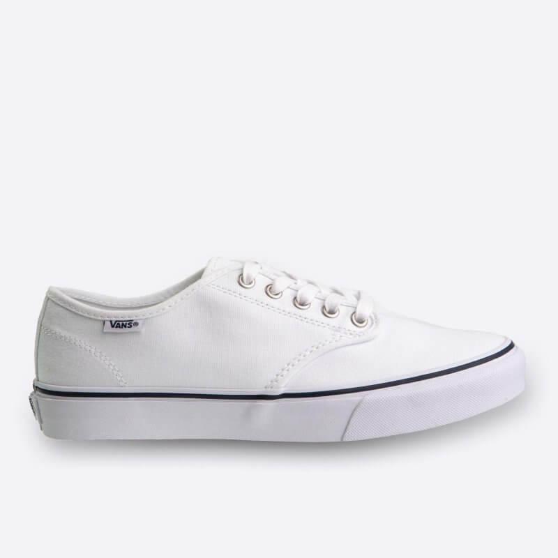 0a4b3a442ac Bílé dámské tenisky Vans Camden Stripe Canvas White And Navy