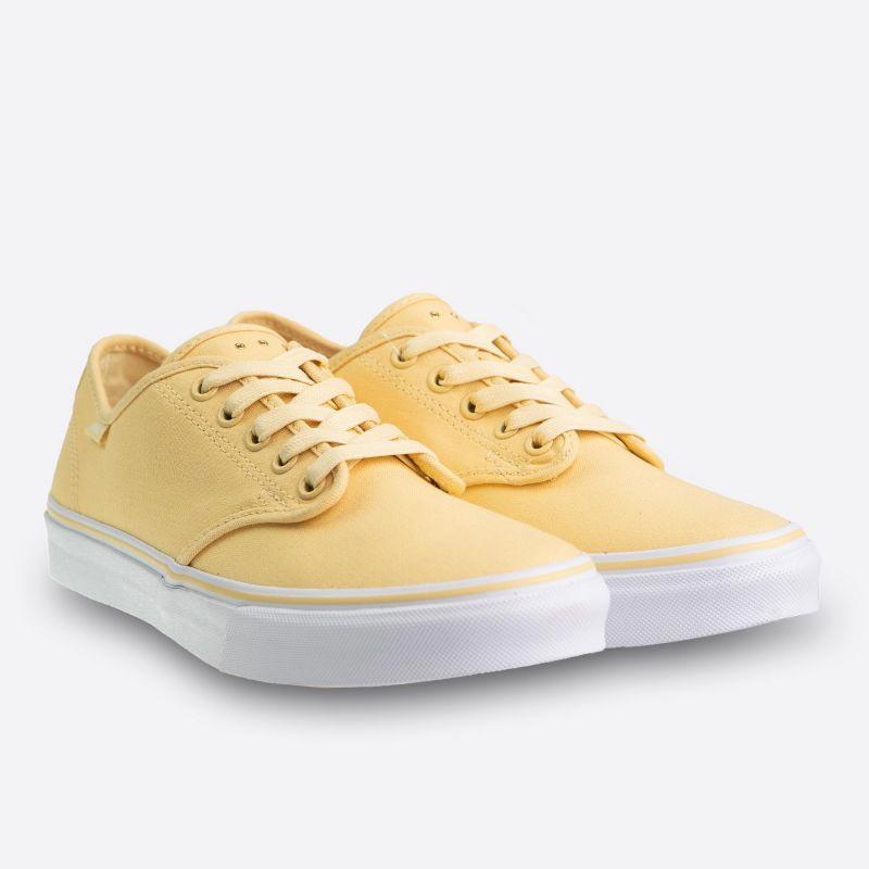 Dámské žluté plátěné tenisky Vans Camden Stripe Micro Eyelets Pineapple  Slice 11c63d09b33