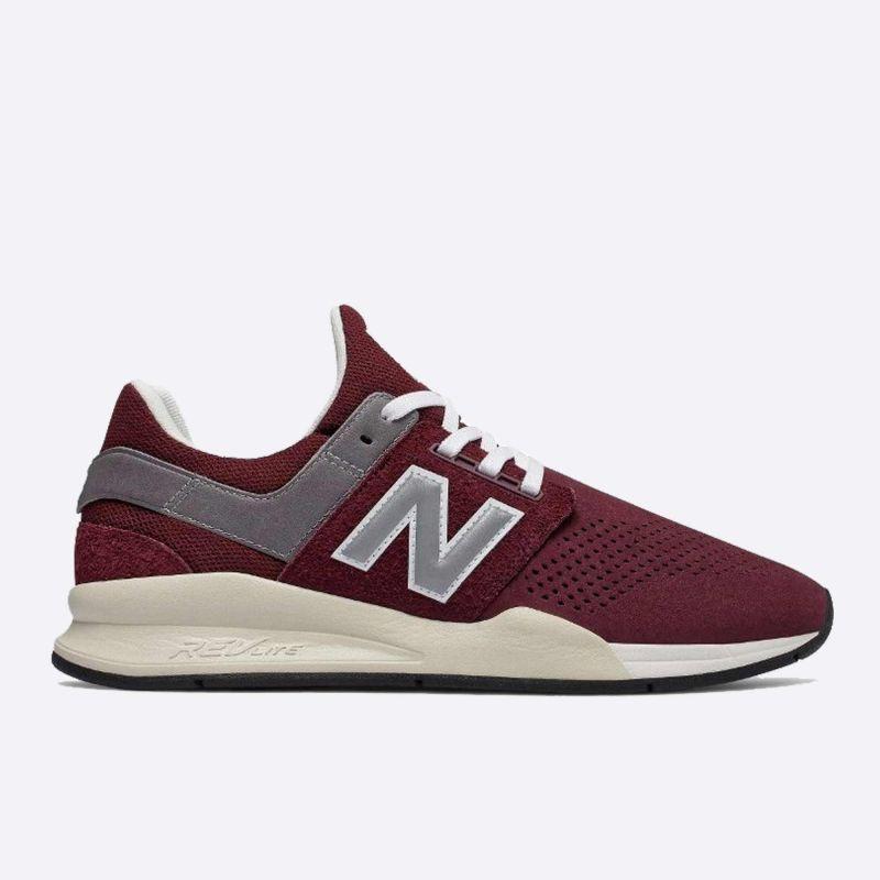 New Balance Vínové pánské tenisky MS247JY 75d1e505183